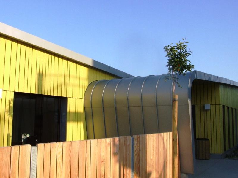 Terrasse Zinc Joint Debout : Patrimoine